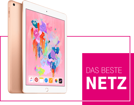 Telekom-Mobilfunk iPad im besten Netz