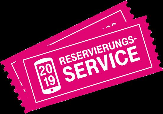Reservierungsservice Ticket