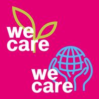 """""""We Care""""-Label"""