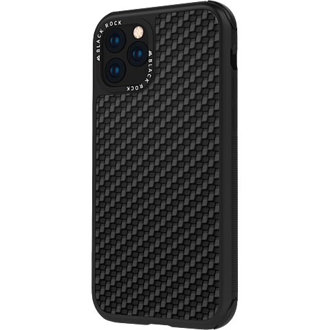 Black Rock Robust Real Carbon Case Apple iPhone 11 - Schwarz 99929685 vorne