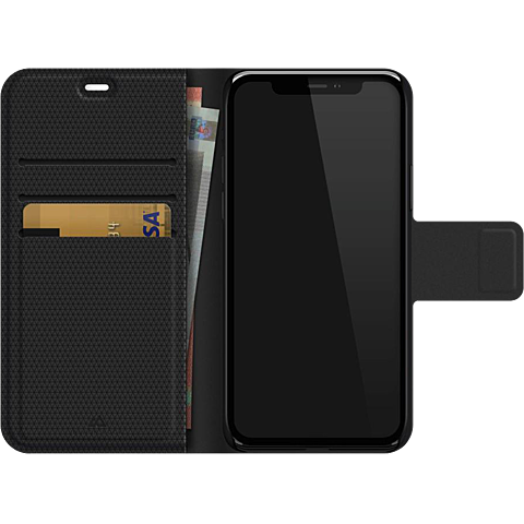 Black Rock 2in1 Wallet Apple iPhone 11 - Schwarz 99929739 seitlich