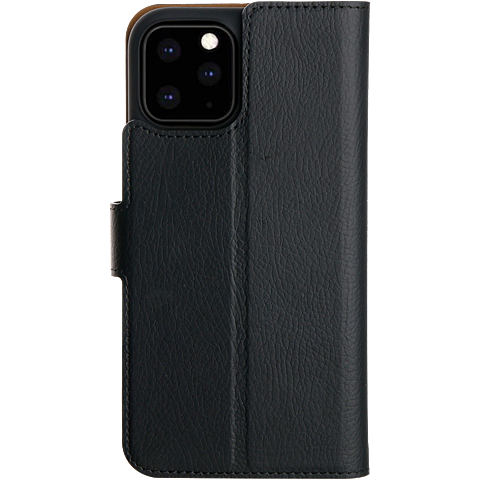 xqisit Slim Wallet Selection Apple iPhone 11 Pro - Schwarz 99929757 hinten