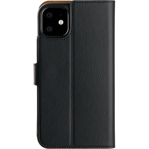 xqisit Slim Wallet Selection Apple iPhone 11 - Schwarz 99929758 hinten