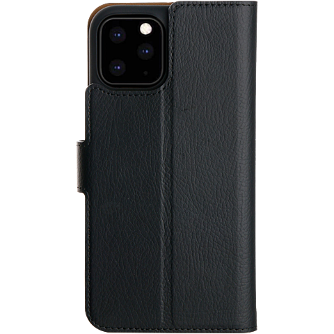 xqisit Slim Wallet Selection Apple iPhone 11 Pro - Schwarz 99929759 hinten
