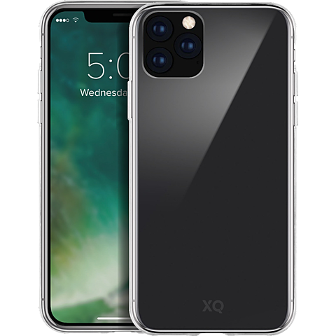 xqisit Phantom Glas Cover Apple iPhone 11 Pro - Transparent 99929760 vorne
