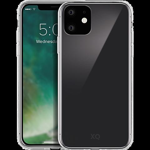 xqisit Phantom Glas Cover Apple iPhone 11 - Transparent 99929761 vorne
