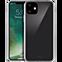 xqisit Phantom Glas Cover Apple iPhone 11 - Transparent 99929761 vorne thumb