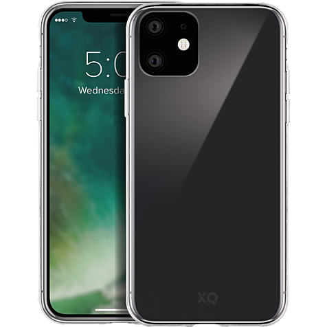 xqisit Phantom Glas Cover Apple iPhone 11 - Transparent 99929761 hero