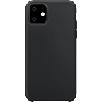 xqisit Liquid Silikon Case Apple iPhone 11 - Schwarz 99929764 kategorie