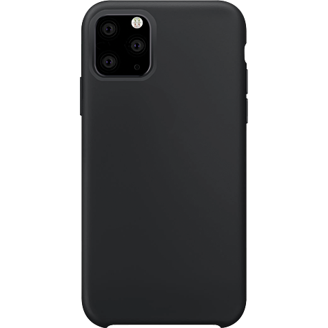 xqisit Liquid Silikon Case Apple iPhone 11 Pro - Schwarz 99929762 hero
