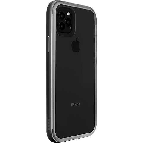 LAUT Exo Frame Cover iPhone 11 Pro - Gunmetal 99929766 seitlich