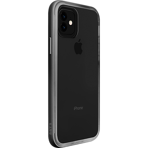 LAUT Exo Frame Cover iPhone 11 - Gunmetal 99929768 seitlich
