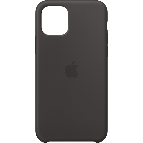 Apple Silikon Case iPhone 11 Pro - Schwarz 99929802 hero