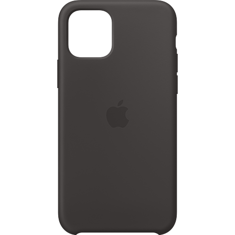 Apple Silikon Case iPhone 11 Pro - Schwarz 99929802 vorne