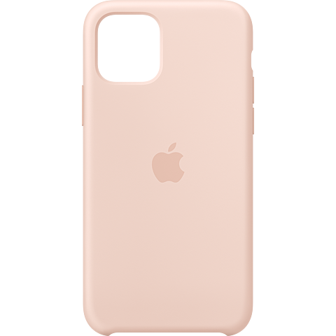 Apple Silikon Case iPhone 11 Pro - Sandrosa 99929803 vorne