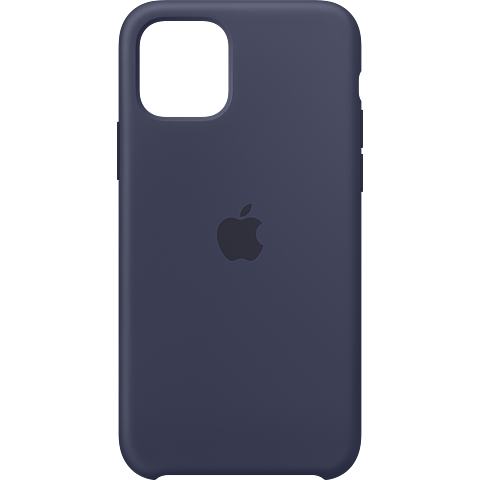 Apple Silikon Case iPhone 11 Pro - Mitternachtsblau 99929804 vorne