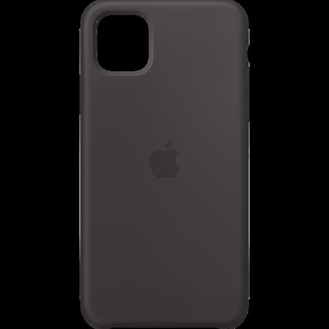 Apple Silikon Case iPhone 11 Pro Max - Schwarz 99929731 vorne