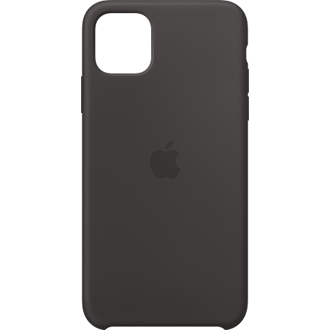 Apple Silikon Case iPhone 11 Pro Max - Schwarz 99929731 hero