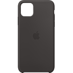 Apple Silikon Case iPhone 11 Pro Max - Schwarz 99929731 kategorie