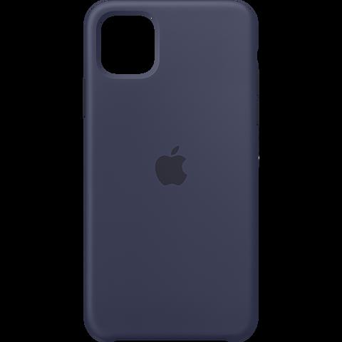 Apple Silikon Case iPhone 11 Pro Max - Mitternachtsblau 99929733 vorne