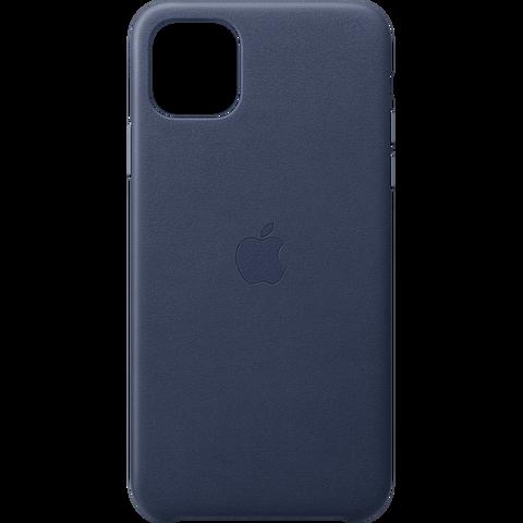 Apple Leder Case iPhone 11 Pro Max - Mitternachtsblau 99929819 vorne