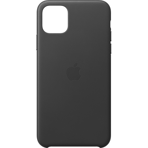 Apple Leder Case iPhone 11 Pro Max - Schwarz 99929735 hero