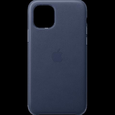 Apple Leder Case iPhone 11 Pro - Mitternachtsblau 99929808 vorne