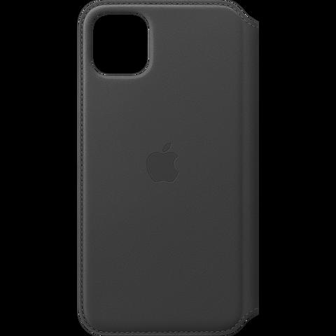 Apple Leder Folio Case iPhone 11 Pro Max- Schwarz 99929820 vorne