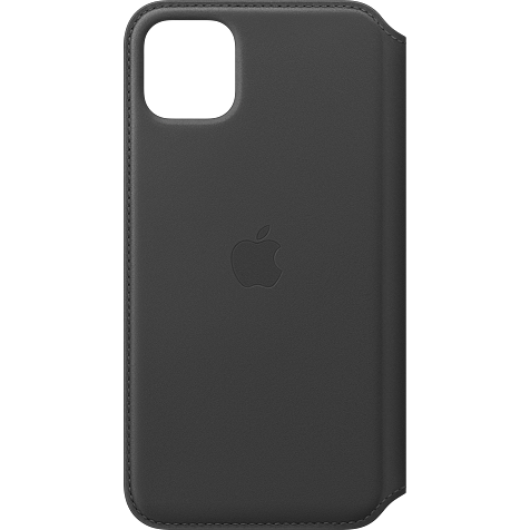 Apple Leder Folio Case iPhone 11 Pro Max- Schwarz 99929820 hero