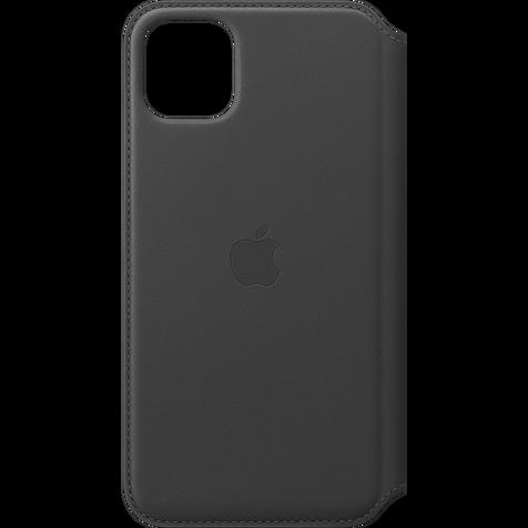 Apple Leder Folio Case iPhone 11 Pro Max- Schwarz 99929820 hero