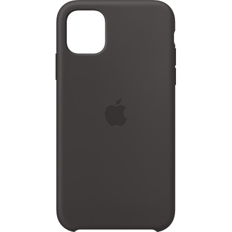Apple Silikon Case iPhone 11 - Schwarz 99929823 hero