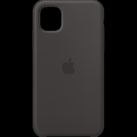Apple Silikon Case iPhone 11 - Schwarz 99929823 hero