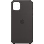 Apple Silikon Case iPhone 11 - Schwarz 99929823 kategorie