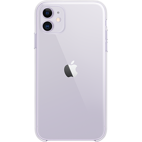 Apple Clear Case iPhone 11 - Transparent 99929824 vorne