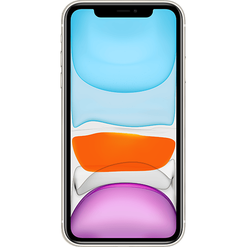 Apple iPhone 11 Weiss Vorne