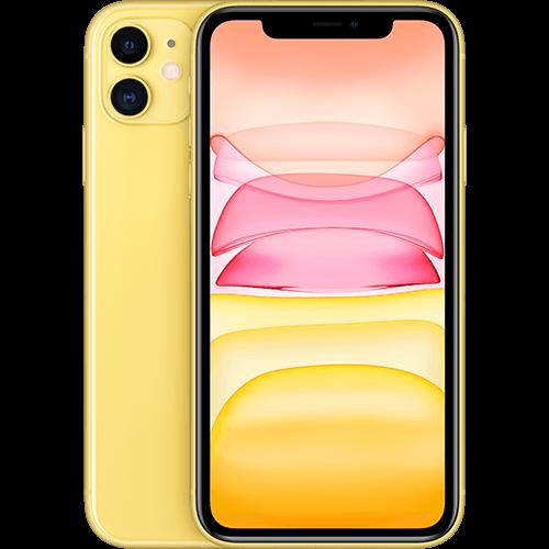 Apple iPhone 11 Gelb Vorne und Hinten