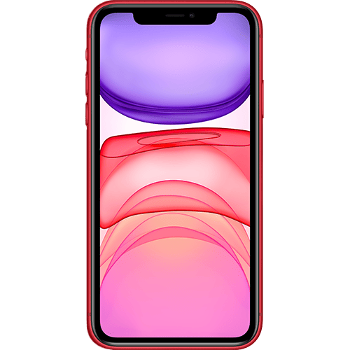 Apple iPhone 11 (PRODUCT)RED Vorne