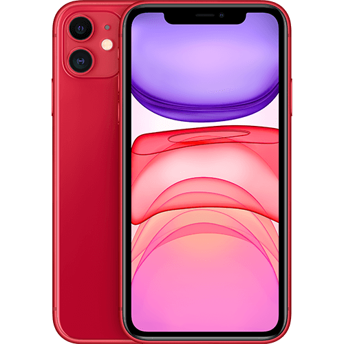 Apple iPhone 11 (PRODUCT)RED Vorne und Hinten