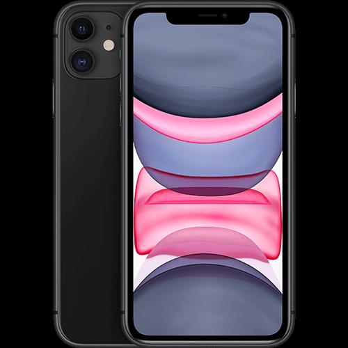 Apple iPhone 11 Schwarz Vorne und Hinten