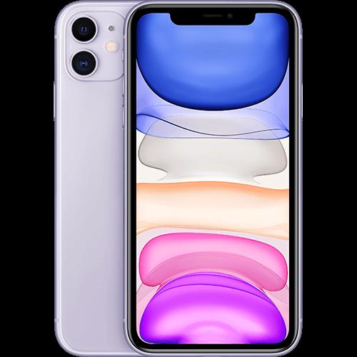 Apple iPhone 11 Violett Vorne und Hinten