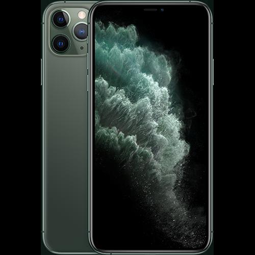 Apple iPhone 11 Pro Nachtgrün Vorne und Hinten