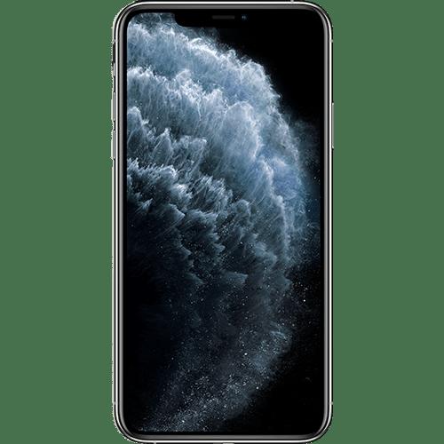 Apple iPhone 11 Pro Silber Vorne