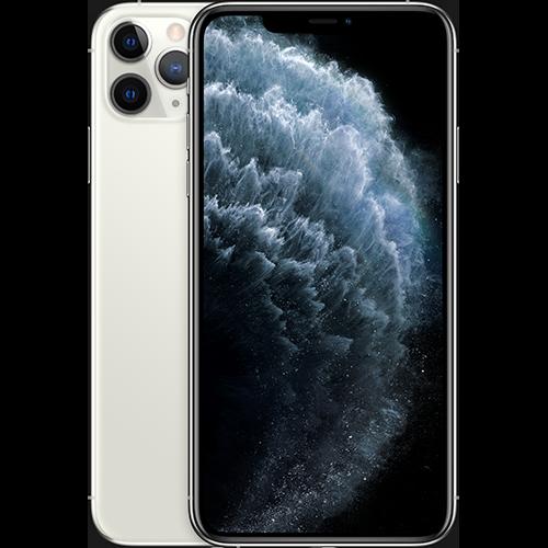Apple iPhone 11 Pro Silber Vorne und Hinten