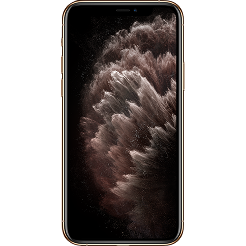 Apple iPhone 11 Pro Max Gold Vorne