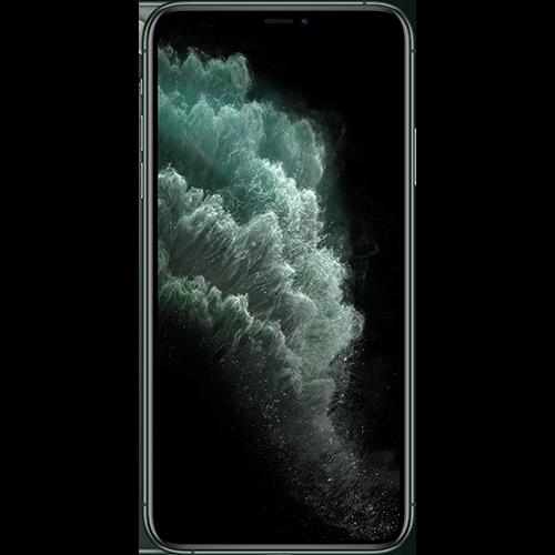 Apple iPhone 11 Pro Max Nachtgrün Vorne und Hinten
