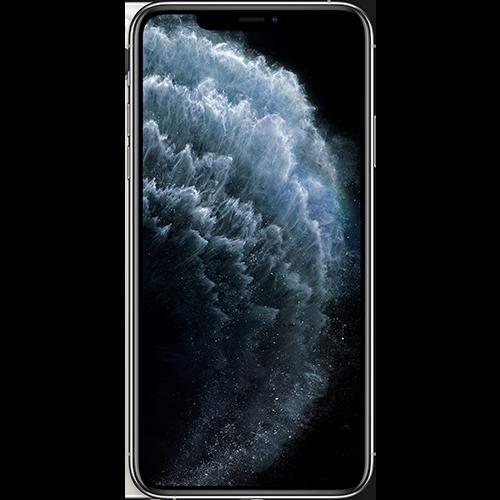 Apple iPhone 11 Pro Max Silber Vorne und Hinten