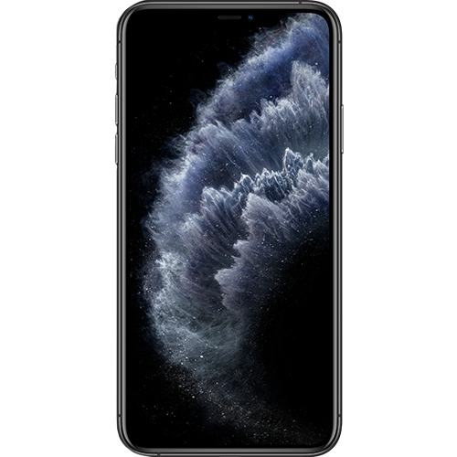 Apple iPhone 11 Pro Max Space Grau Vorne