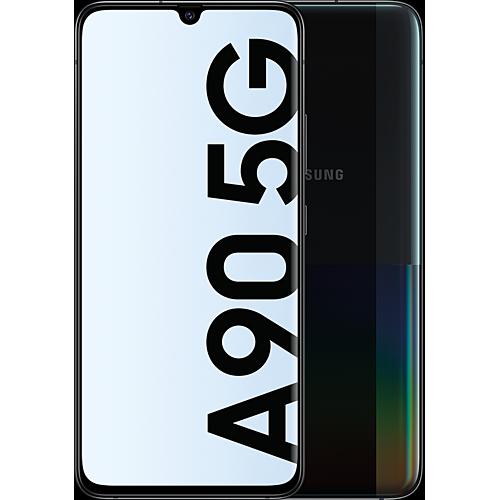 Samsung Galaxy A90 5G Classic Black Vorne und Hinten