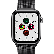 Apple Watch Series 5 Edelstahl Milanaise Space Schwarz Katalog