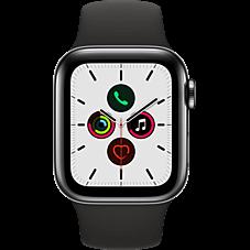 Apple Watch Series 5 Edelstahl Sport Schwarz Katalog